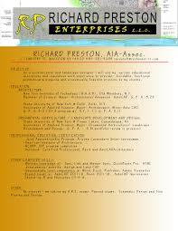 Richardprestonenterprises Resume