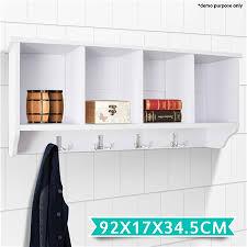 Coat Rack Cabinet 100Compartment Coat Rack Cabinet White Crazy Sales 94