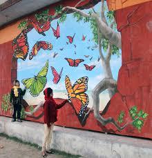 3d street painting calcutta india erflies tracy lee stum