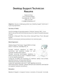 Technical Support Resume Sample Technical Support Resume Sample