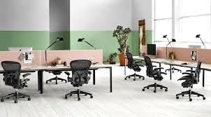 herman miller office desk. Herman Miller Classic Aeron Chair - Fully Adjustable, B Size, Adjustable PostureFit, Carpet Casters OPEN BOX: Amazon.ca: Home \u0026 Kitchen Office Desk E
