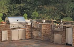small outdoor kitchen alfresco style awesome smoker ideas ca
