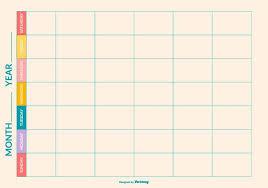 Weekly To Do Calendar Template Weekly Calendar Template Vector Download Free Vector Art Stock