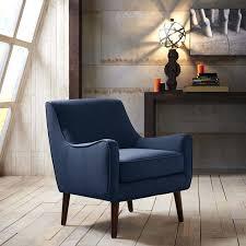 fun blue chair living room oxford accent chair blue striped living room chair
