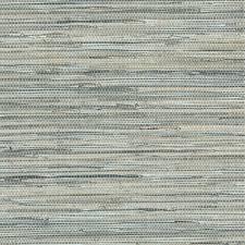 blue grey faux grasscloth wallpaper