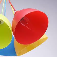 Люстра подвесная Улыбка 5xE27x60 Вт, металл/<b>пластик</b>, цвет ...