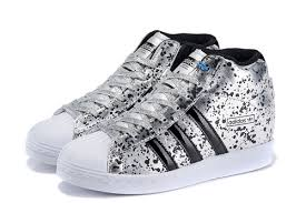 adidas shoes high tops white. adidas superstar silver high top black white sneakers shoes tops