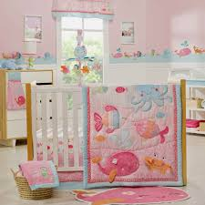 under the sea 5 piece baby crib bedding set with per by carters sea collection
