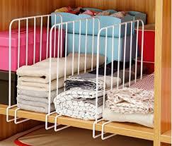 office shelf dividers. MosQuick® Set Of 2 Closet Shelf Organiser,Shelf Dividers For Wooden Racks Shelves Office T
