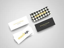 Slim Business Card Mockup Psd Free Download Mockups