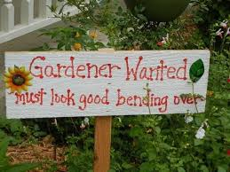 garden sign. Ask The Creator About This Project Garden Sign
