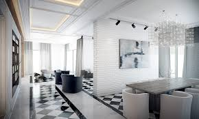 black and white tile floor. 1. Mix With Marble. View In Gallery. This Black And White Marble Floor Tile O