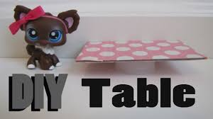 Diy Furniture Diy Furniture How To Make A Lps Table Youtube