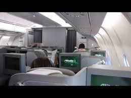 Alitalia Flight Seating Chart