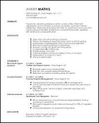 Leasing Consultant Resume Example Manager If Latest Format For