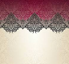 red and black vintage background. Plain And Fashionable Red Ecru And Black Vintage Background Design Stock Vector   38110261 For Red And Black Vintage Background