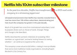 Break Even Point Formula Top Example Netflix Break Even