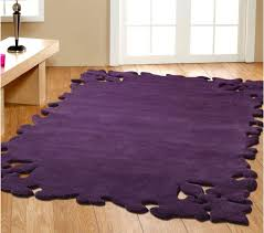 purple momeni new wave rug