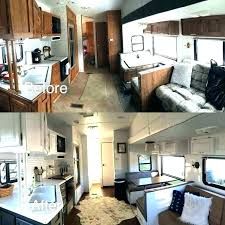 Camper interior decorating ideas Makeover Renovated Rvs Camper Interior Decorating Ideas Beautiful Renovated Living Room Vacation With Regard To Mlurlco Renovated Rvs Camper Interior Decorating Ideas Beautiful Renovated