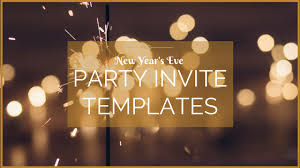 new year s template 10 free new years eve party invitation templates