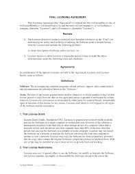 Sample License Agreement licensing agreement sample Besikeighty24co 1