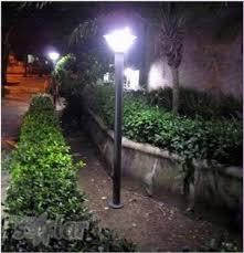 garden light black 6w