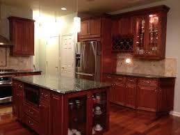 Mocha Shaker Kitchen Cabinets Raised Panel Mocha Maple Glazed Kitchen Cabinets For Less