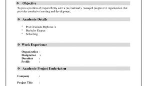 Resume Simple Format Or Biodata Format Word Doc Asafonec
