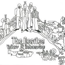 Cooloring Book Beatles Coloring Vintage Free Download Ebay Board