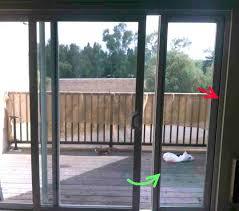 sliding door with pet door how to install a sliding glass pet door sliding door sliding