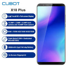<b>Refurbished CUBOT X18 Plus 4G</b> Smartphone 5.99'' Android 8.0 ...