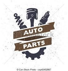 auto parts clip art. Simple Art Auto Parts Hand Drawn  Csp42452867 Intended Parts Clip Art V