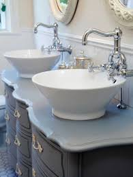 Antique White Bathroom Vanity Home Depot Double Vintage Kitchen Sink