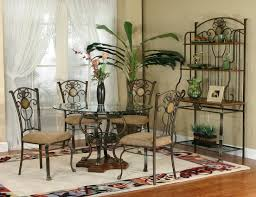 Iron Table And Chairs Set Cramco Inc Design Line Allegro 5 Piece Dining Set Wayside