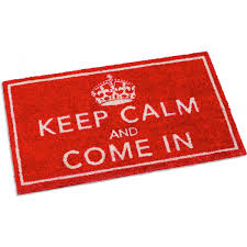 Keep Calm and Come In Doormat | BBC Shop