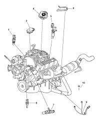 2008 chrysler aspen sensors engine thumbnail 1