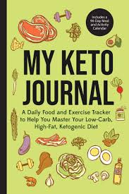 Food And Exercise Trackers My Keto Journal A Daily Food And Exercise Tracker To Help