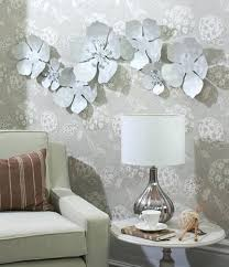 large white metal wall art