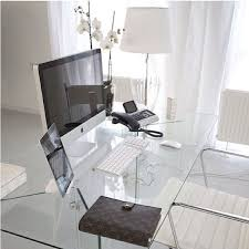 office glass desk. Small Home Office Design Ideas - Glass Desk U