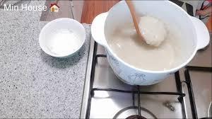 ?64 Cháo khoai sọ cho bé ăn dặm ( Baby cook 7-12 tháng) - YouTube