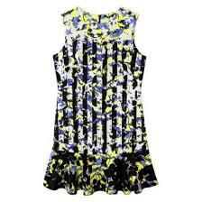 Amazon Com Peter Pilotto For Target Dress Green Floral