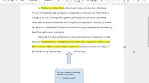 Mla Format For Intext Citations Mla Format 2 In Text Citations