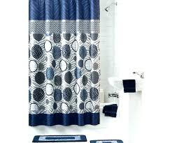 navy and white shower curtain dark blue gray fabric curtains striped uk