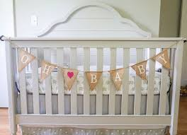Shabby Chic Baby Shower  Shabby Babies Clothes And BannersBaby Shower Burlap Banner