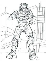 Small Picture Printable Halo Coloring Pages For Kids For The Kid 13649