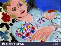 The Embroidered Green Blouse, Henri Matisse Stock Photo, Royalty ...