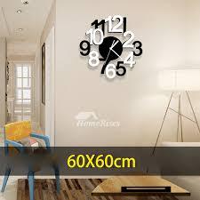 office wall clocks. Bedroom Wall Clocks Office 23 6 19 7 Inch Modern Acrylic Novelty A