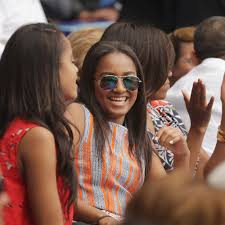 sasha obama had a summer job in a restaurant just like you fwx just because you re the president s daughter doesn t mean you don t have to get the requisite summer job bussing tables while you re off school