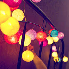Best Price High quality multicolor <b>cotton ball</b> light ideas and get free ...