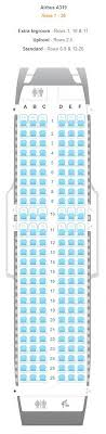 A319 Seating Chart Airline Seating Charts For All Airlines Worldwide Find Out